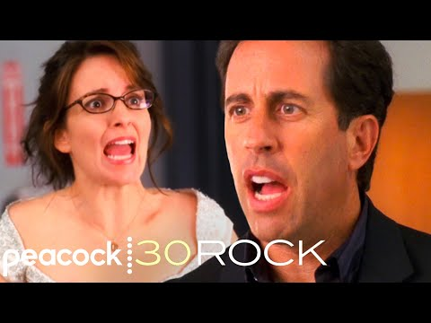 Seinfeld Feels Insulted by Liz   Tina Fey Imitates Jerry Seinfeld   Relationship Advice   30 Rock
