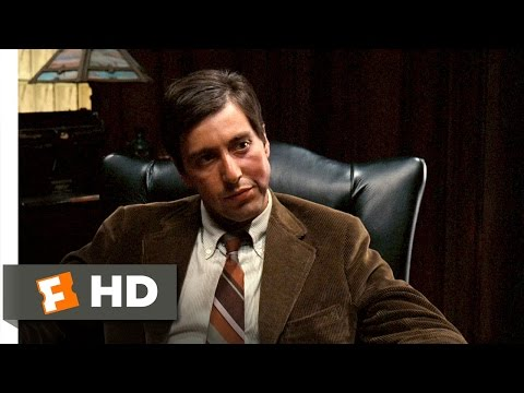 It's Strictly Business - The Godfather (2/9) Movie CLIP (1972) HD