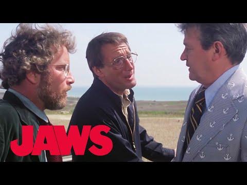 "Jaws | ""Close the Beaches"" | Film Clip"