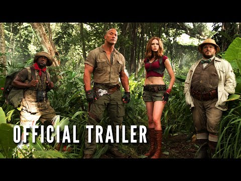 JUMANJI: WELCOME TO THE JUNGLE - Official Trailer (HD)