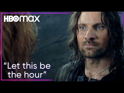 Gandalf's Arrival at the Battle of Helm's Deep | Lord of the Rings: The Two Towers | HBO Max