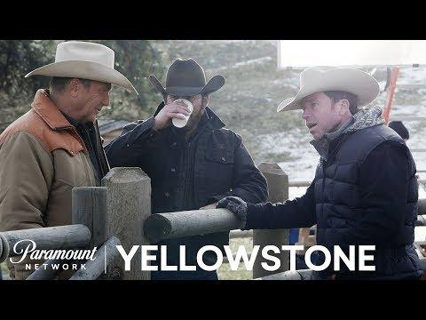 BTS Look at Yellowstone w/ Kevin Costner, Taylor Sheridan & More! | Paramount Network