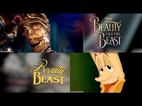 """""""Be Our Guest"""" Disney's Beauty and the Beast Comparison 1991 vs 2017 (Animated vs. Live Action)"""