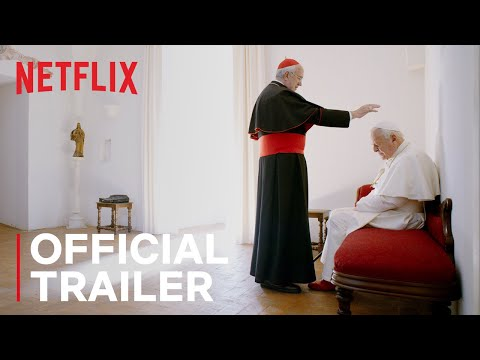 The Two Popes   Official Trailer   Netflix