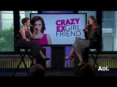 """Rachel Bloom Discusses """"My Crazy Ex-Girlfriend""""   BUILD Series"""