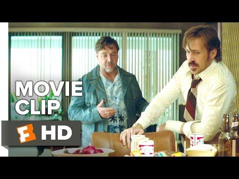 The Nice Guys Movie CLIP - Deep Breath (2016) - Russell Crowe, Ryan Gosling Movie HD