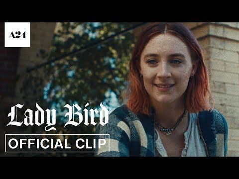 Lady Bird   Coffee Shop   Official Clip HD   A24