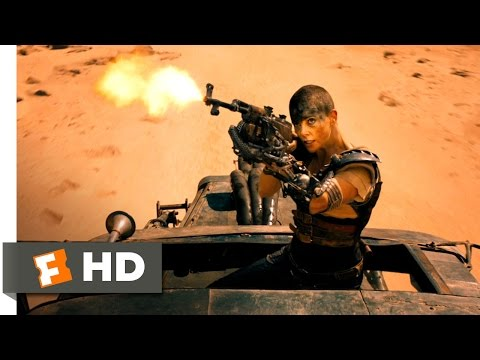 Mad Max: Fury Road - Motorcycle Gang Attack Scene (4/10) | Movieclips