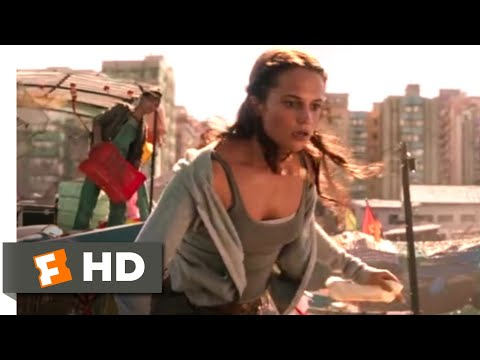 Tomb Raider (2018) - Fighting Thieves Scene (1/10)   Movieclips