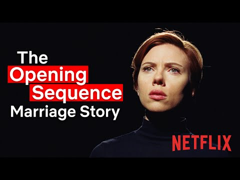 Marriage Story | The Opening Sequence | Netflix