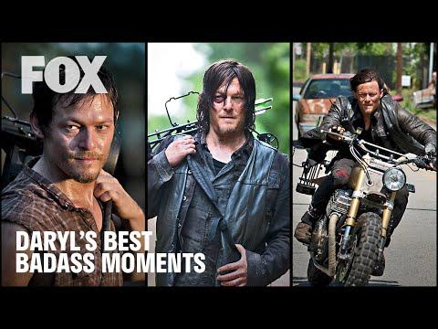 The Walking Dead | Daryl Dixon's Best Badass Moments | FOX TV UK