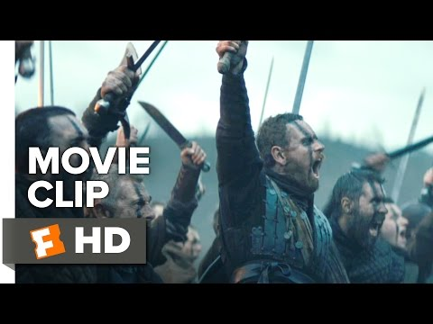 Macbeth Movie CLIP - Battle (2015) - Michael Fassenbender, Marion Cotillard Drama HD