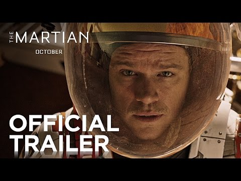 The Martian   Official Trailer [HD]   20th Century FOX