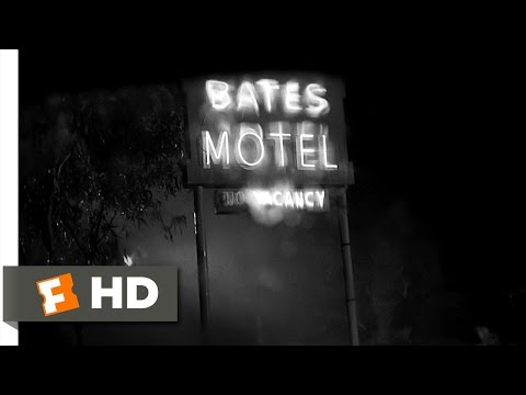 Psycho (1/12) Movie CLIP - The Bates Motel (1960) HD