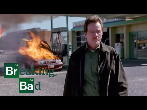 Squeegee + Car Battery = Explosion   Cancer Man   Breaking Bad