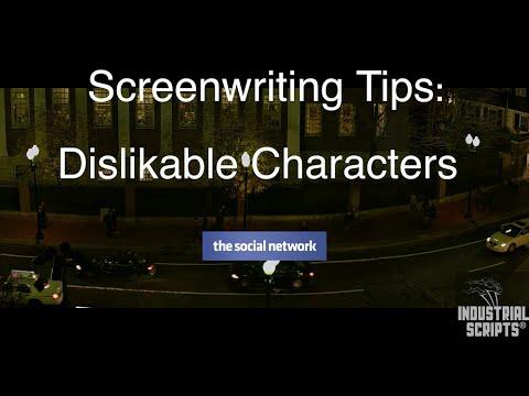 Screenwriting Tips: Dislikable Characters