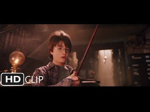 Harry Gets His Wand | Harry Potter and the Sorcerer's Stone