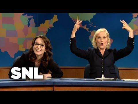 Tina Fey on Update - SNL