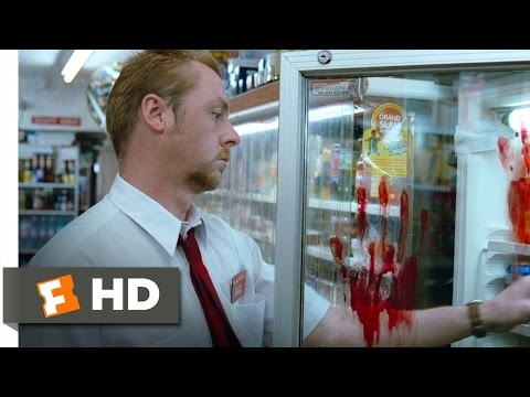 Shaun of the Dead (2/8) Movie CLIP - Oblivious to the Zombies (2004) HD