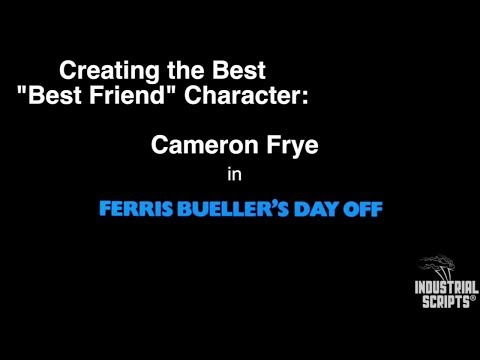 """Creating the Best """"Best Friend"""" Character: Cameron Frye in Ferris Bueller's Day Off"""