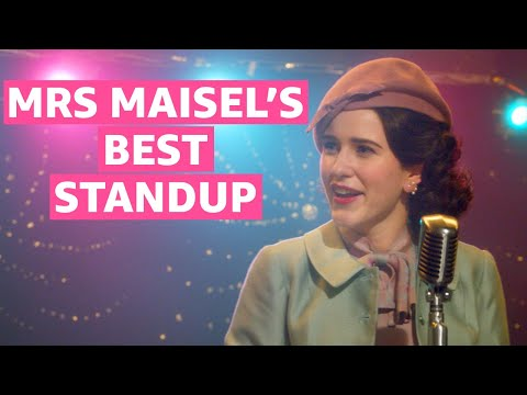 The Best of The Marvelous Mrs. Maisel's Stand Up | Prime Video