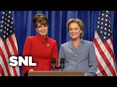 Sarah Palin and Hillary Address the Nation - SNL