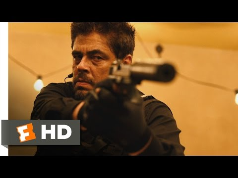 Sicario (10/11) Movie CLIP - Time to Meet God (2015) HD