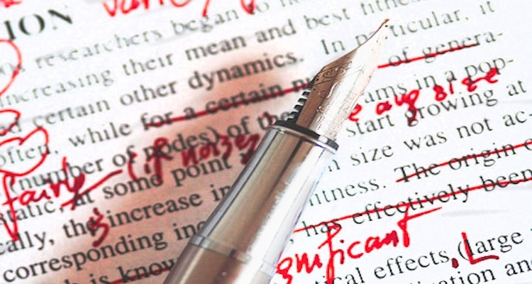 Screenplay editing services
