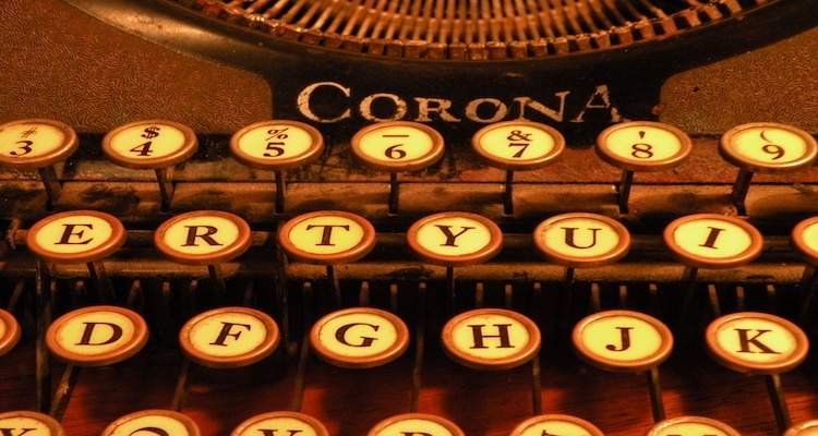 Typewriter - Avoid Making Common Film Industry Excuses
