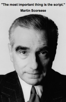 Scorsese screenplay