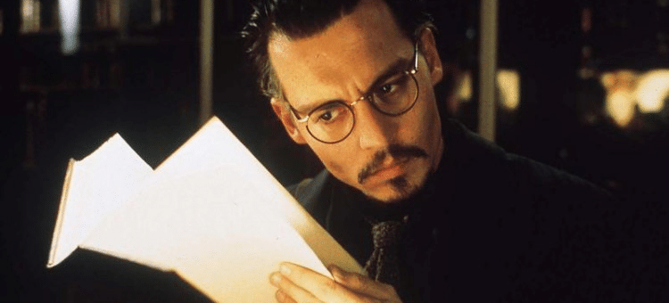 Johnny Depp as Dean Corso in THE NINTH GATE