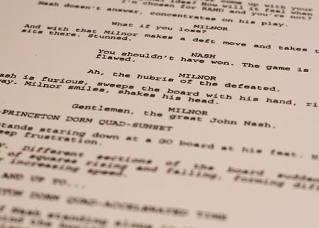 screenplay format