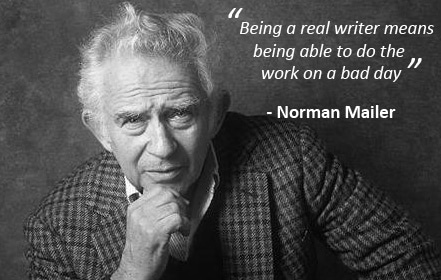 Norman Mailer - Bad day - Copy