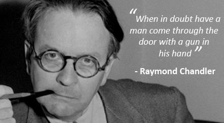 Raymond Chandler - Man with gun