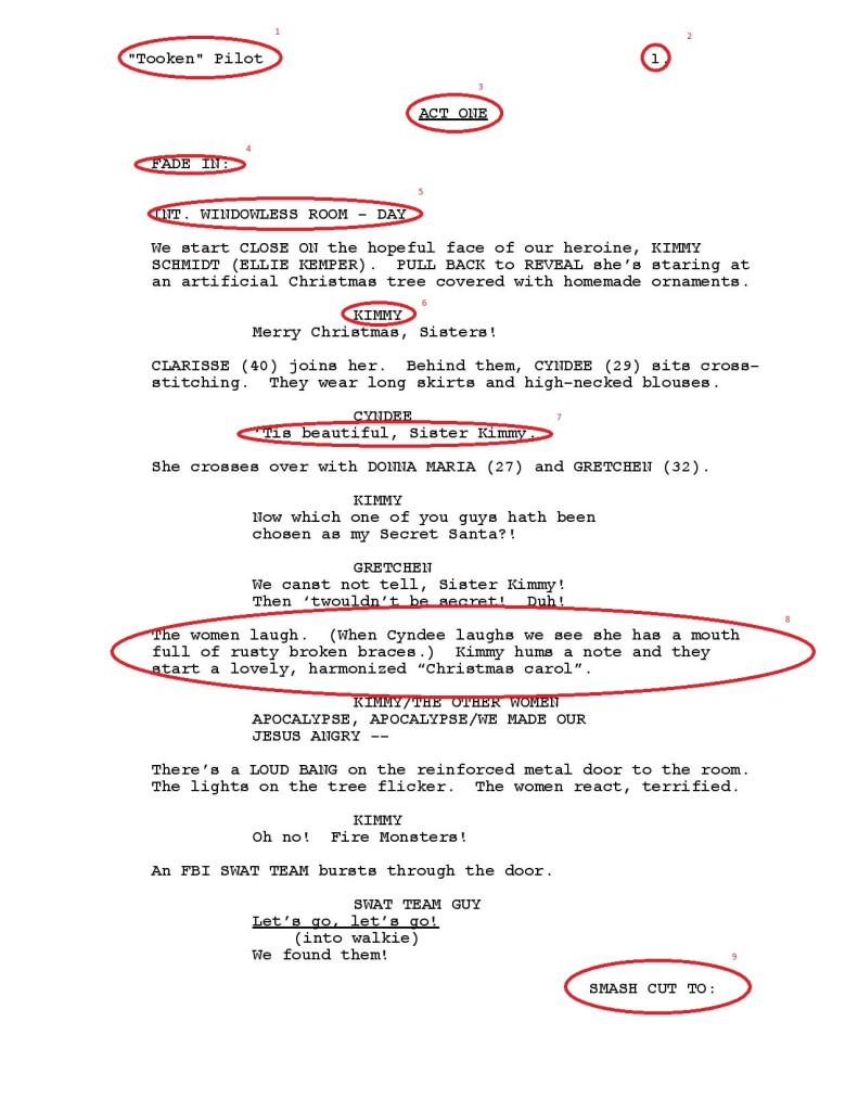 Screenwriting Lesson - Basics of Television Writing. script reading course.