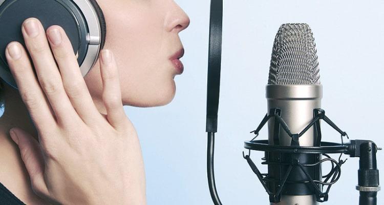 Voice-Over Header