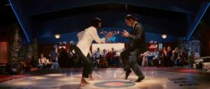 Pulp Fiction 'twist' scene