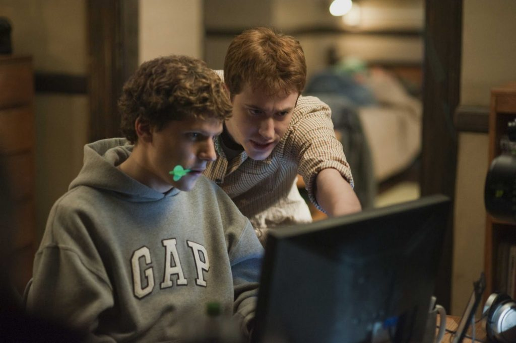hacking films - The Social Network