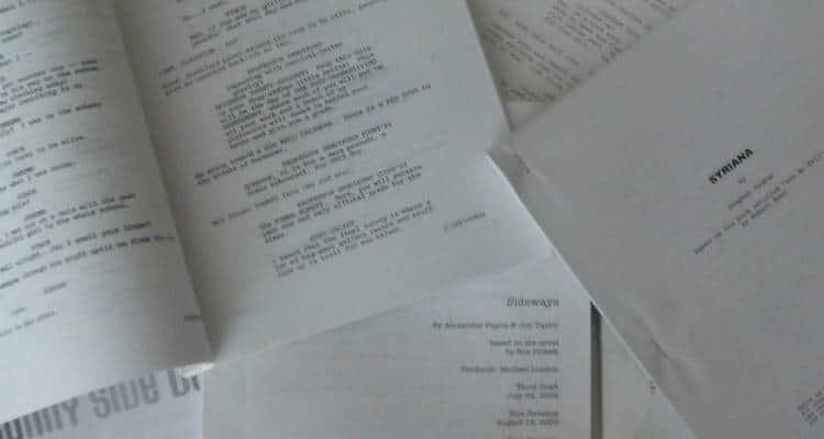 how to write a script screenplay