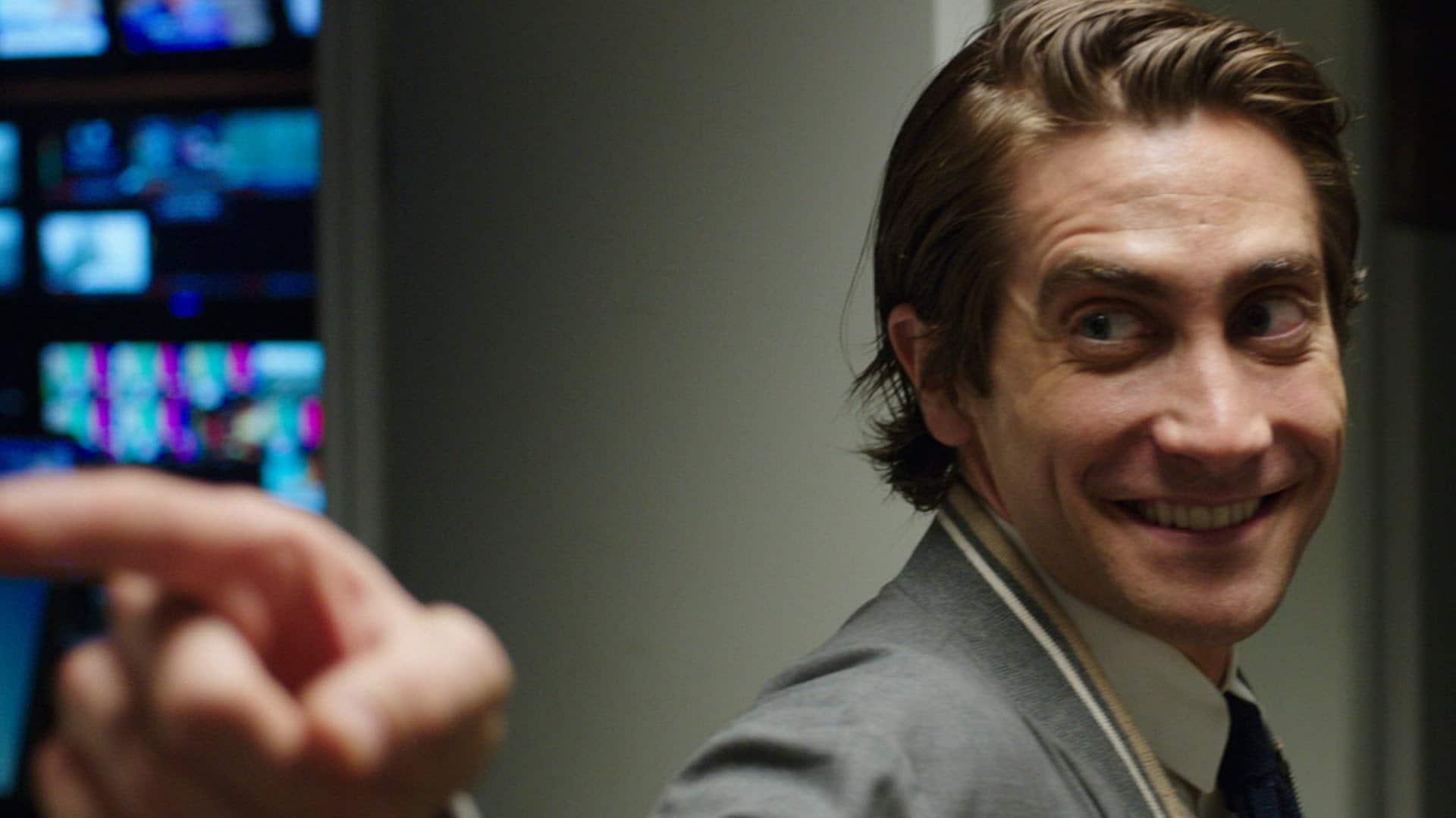 Lou Bloom (Jake Gyllenhaal) in Nightcrawler