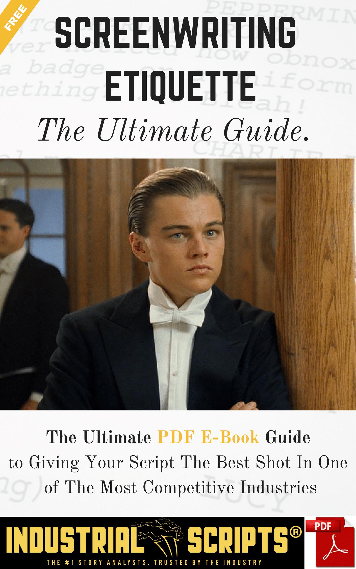 screenwriting etiquette