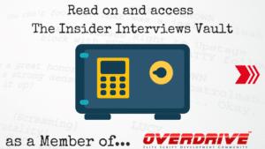 insider interviews live vault