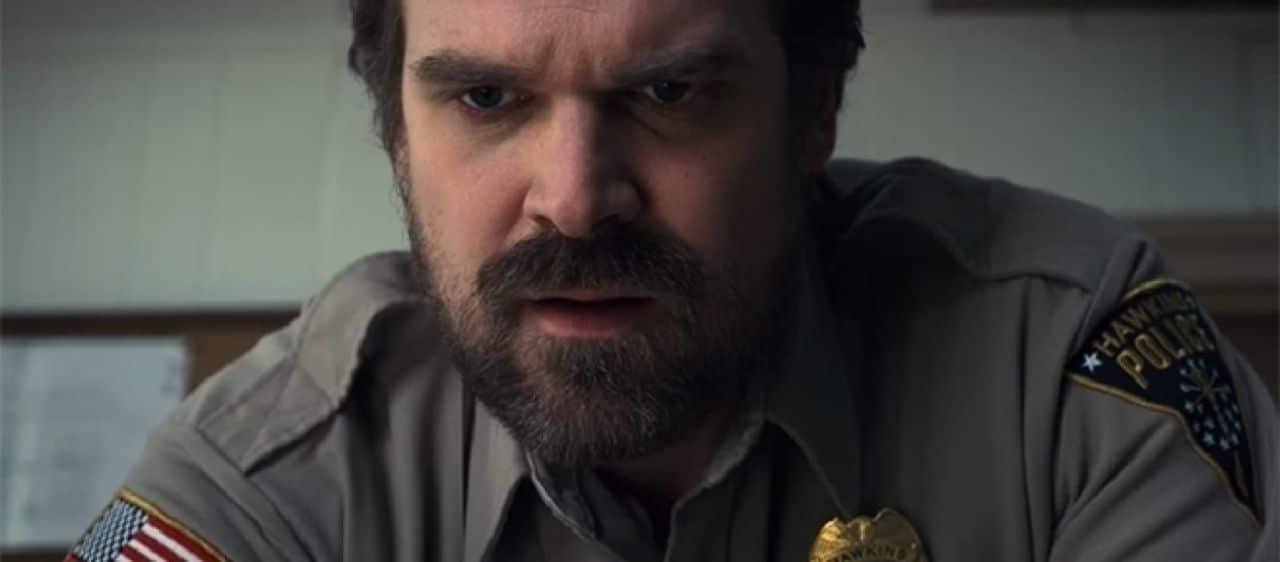 Jim Hopper (David Harbour) Stranger Things