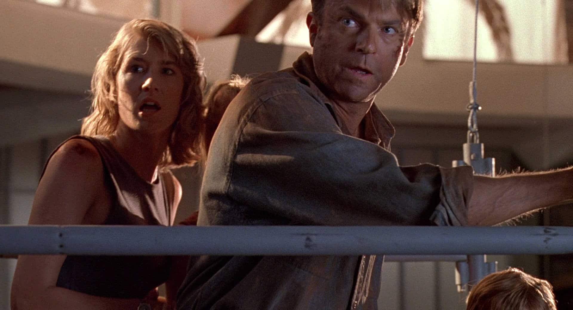 Alan Grant (Sam Neil) in Jurassic Park