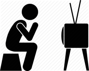 How to pitch a TV Show Watching TV