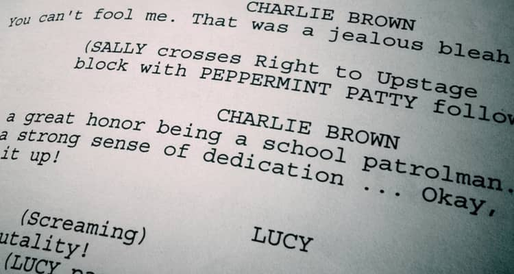 screenplay font industry standard