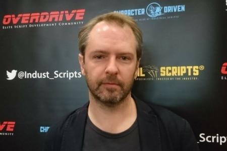 Screenwriter Stuart Hazeldine. Overdrive.