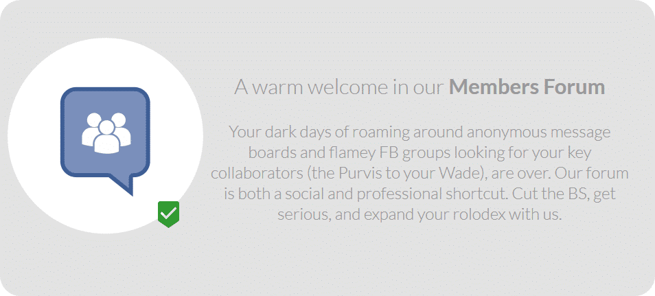 Members Forum - Welcome