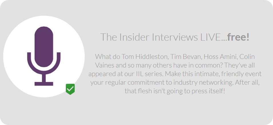 The Insider Interviews - Live
