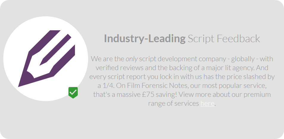Industry Leading Script Feedback